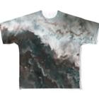 yjb_22のfluidart_jlamdl All-Over Print T-Shirt