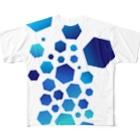 neoacoのCrashed フルグラフィックTシャツ