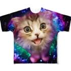 sadajiのダサネコT_A Full graphic T-shirts