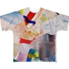 ATELIER SUIのHIDEコラージュ Full graphic T-shirts
