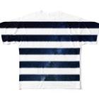 BBOY CHIBOWのborder Full graphic T-shirts