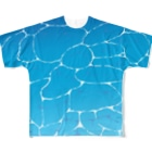 シショー's SHOPの-OCEAN- Full Graphic T-Shirt