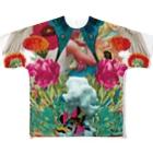 プシュケとラーガ【公式】のコラージュフルグラフィックTee Full Graphic T-Shirt
