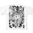 @折部.壊子(オリブ)の逆再生フルグラフィックTシャツ