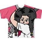 ジャイアント麗子ちゃんのJKフルグラフィックTシャツ