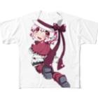 SEOのホワイトハットジャパンの白野おぷち Full graphic T-shirts