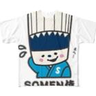 そうめん侍のSOMEN侍「えへ」NEWモデル フルグラフィックTシャツ