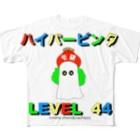 モンスター研究所の売店のハイパービンタ×cmma-chans&nachipos Full graphic T-shirts