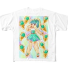 高良ほうせきのスズリのチョコミント 女の子 Full Graphic T-Shirt