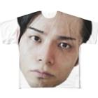masilloのface Full graphic T-shirts