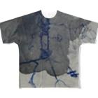 末素生児の鬱染み Full graphic T-shirts
