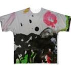末素生児の生まれん坊 Full graphic T-shirts