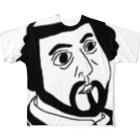 matsunomiの海外のおじさん Full graphic T-shirts