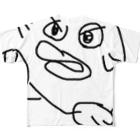 よしだのよしだ Full graphic T-shirts