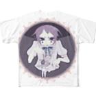 かつまた ゆいの首切りピエロ newcolor ver. Full graphic T-shirts
