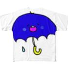 matsunomiのあめふり Full graphic T-shirts