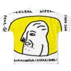 顔面占い ニッパシ館の顔面占いニッパシ館 Full graphic T-shirts