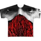 Keita Roimoの燃える柴 Full graphic T-shirts