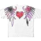 meMEmeの着床ちゃん Full graphic T-shirts