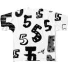 megumiillustrationの5 フルグラフィックTシャツ