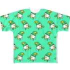 ヒボたんショップのヒボたんの行進 Full graphic T-shirts