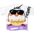 フルフリのフルフリバージョン2 フルグラフィックTシャツ