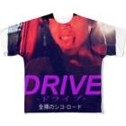 はっちゃんのDRIVE【公式】 Full graphic T-shirts