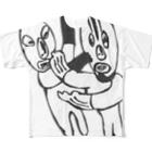 FutaseKuroのNice!プロレス! Full graphic T-shirts