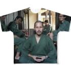 JUNYA HAYASHI MANのZAZEN Full graphic T-shirts