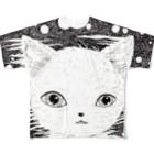 橋本京子の夜に溶けている Full graphic T-shirts
