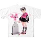 Crab_000のずっとずっとフルグラフィックTシャツ