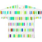レオナのColor Bars フルグラフィックTシャツ