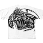 トライバルデザイナー鵺右衛門@仕事募集中のCalappa japonica Full graphic T-shirts