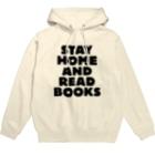 SAIWAI DESIGN STOREのSTAY HOME AND READ BOOKS Hoodies