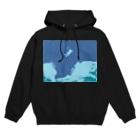 アメリカンベースの海底の神秘 絵画 Hoodies