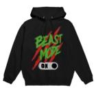 【仮想通貨】ADKグッズ(Tシャツ等)専門店 のBEAST MODE ON 04 Hoodies