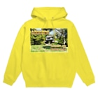 FUCHSGOLDの日本の城:土浦城 Japanese castle: Tsuchiura castle★Recommend for white base products only !!  Hoodies