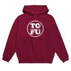 Piso Store on Suzuriの「TOFU」金熊先輩モデル Hoodies