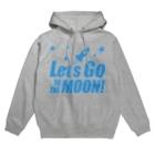【仮想通貨】ADKグッズ(Tシャツ等)専門店 のLet's go to the Moon! Hoodies