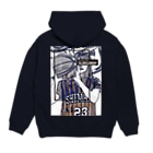 SLOW in the DEEPのSHIMANE Basketball CLUB Hoodiesの裏面