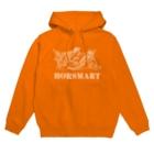 HORSMART公式ショップの色選べます『HORSMARTオリジナル商品(ホワイト)』 Hoodies