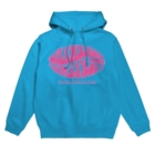 Mudslide official goods shopのSTRAWBERRY GUM SYRUP Hoodies