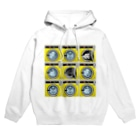 TOMOKUNIのコインランドリー Coin laundry【3×3】 Hoodies