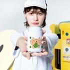 eigoyaのクローバーと茶トラ猫 Kooziesのサイズイメージ