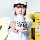 ショカ(=ФωФ=)ネコのお店 SUZURI支店のひまんがCat(はなぢ) Kooziesのサイズイメージ