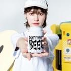 スペィドのおみせsuzuri支店のDon't Think BEER #1 (white body) Kooziesのサイズイメージ