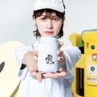 hankoyanoruのト音記号にもたれてる女の子 Kooziesのサイズイメージ