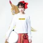 明季 aki_ishibashiの立ち入り禁止 Long sleeve T-shirtsの着用イメージ(表面)