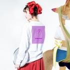 HIRO_yo4daの3C4 Long sleeve T-shirtsの着用イメージ(裏面・袖部分)