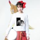 _Midori_のPiero/ピエロ Long sleeve T-shirtsの着用イメージ(表面)